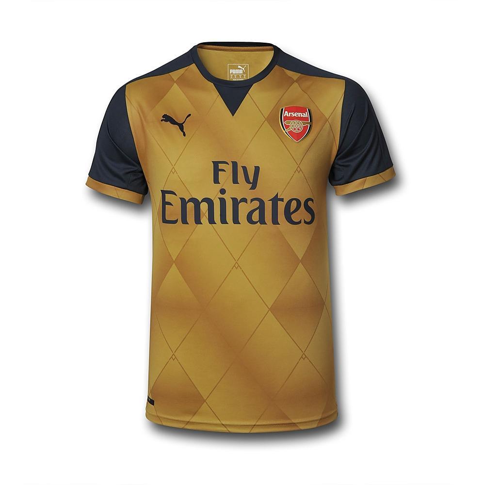 7af1c6aef Arsenal 15 16 Puma Away Kit