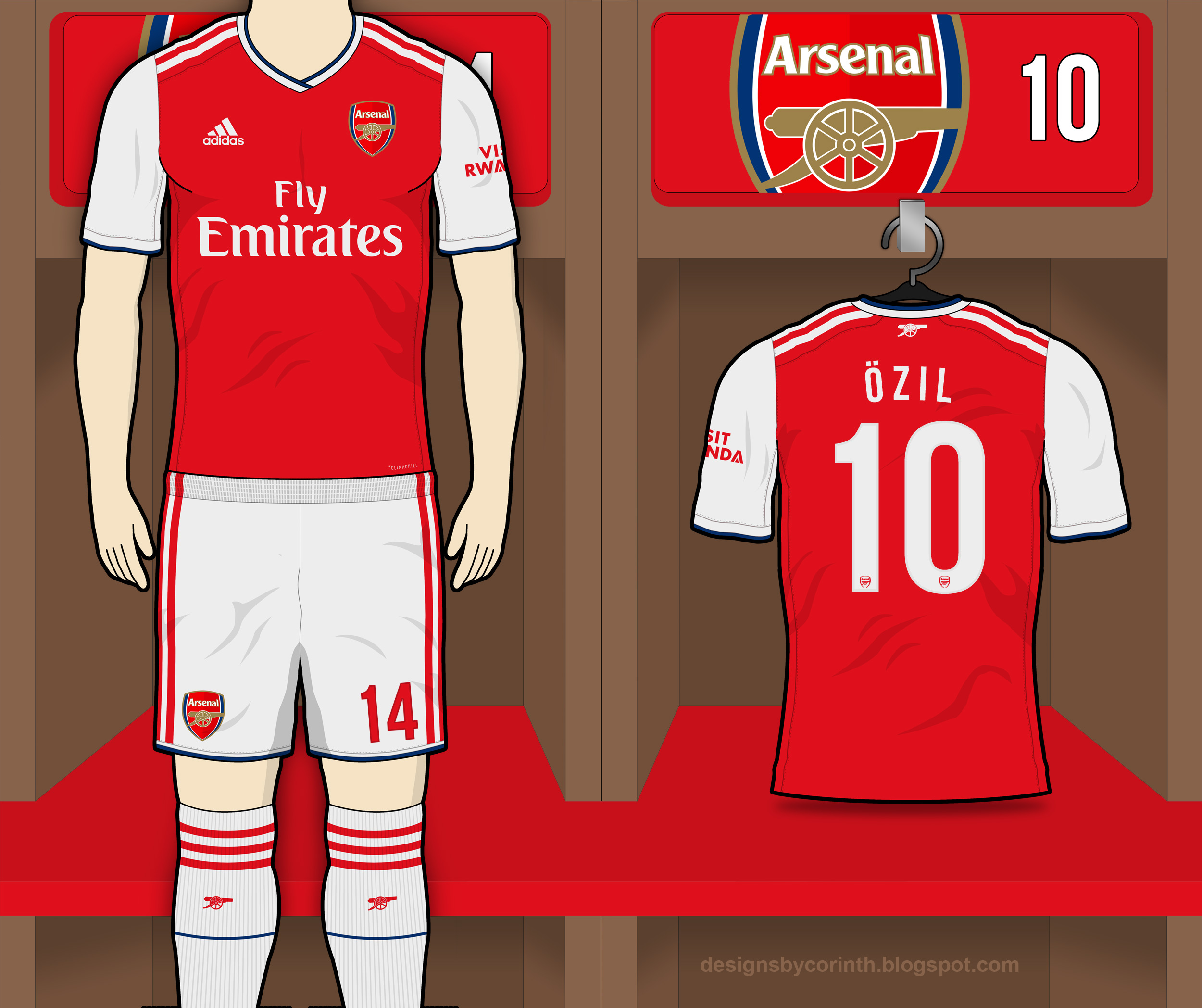 Arsenal 2019-20 Home Kit Prediction  c4fdfc9ab
