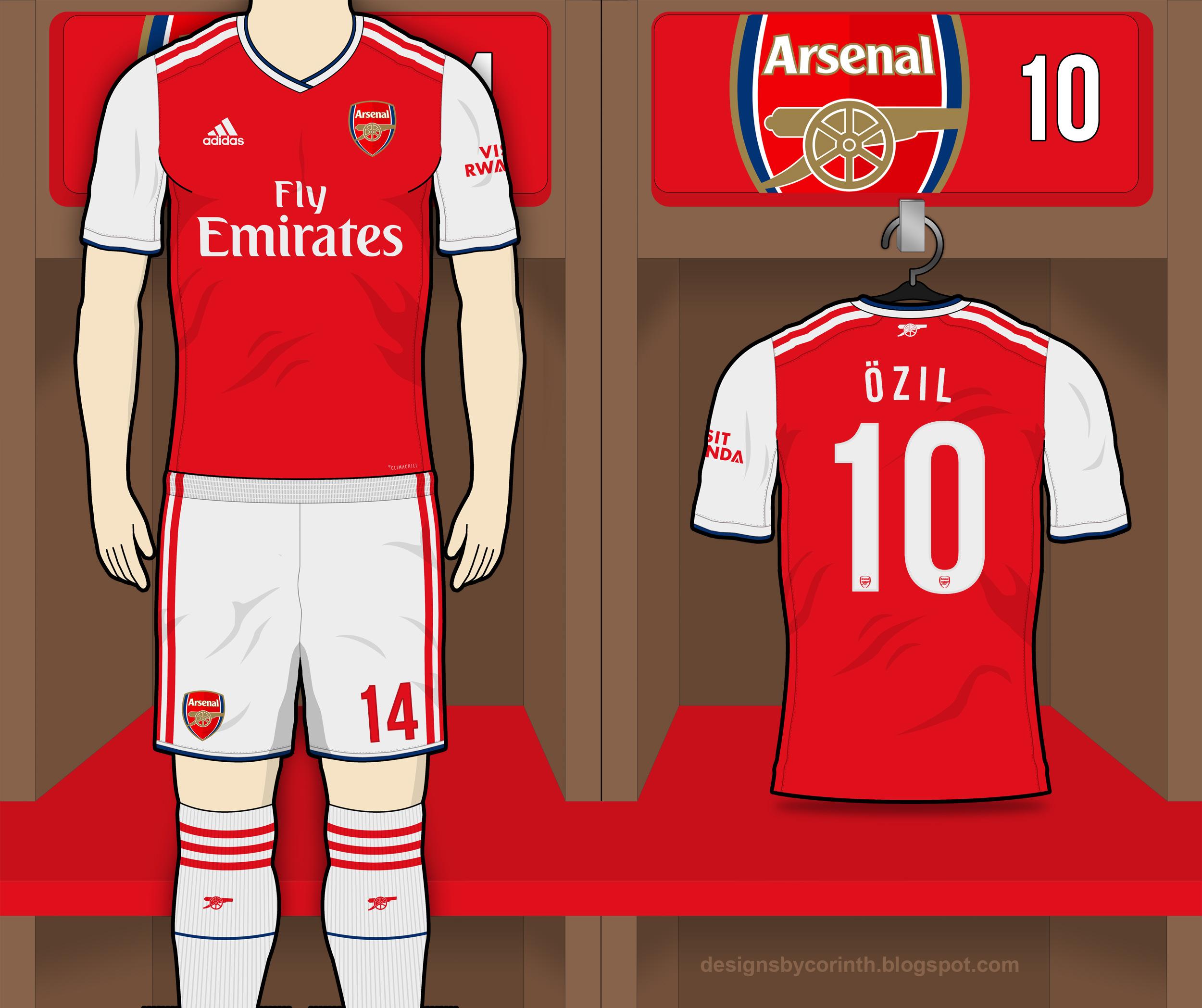 Arsenal 2019-20 Home Kit Prediction   Kit design ...