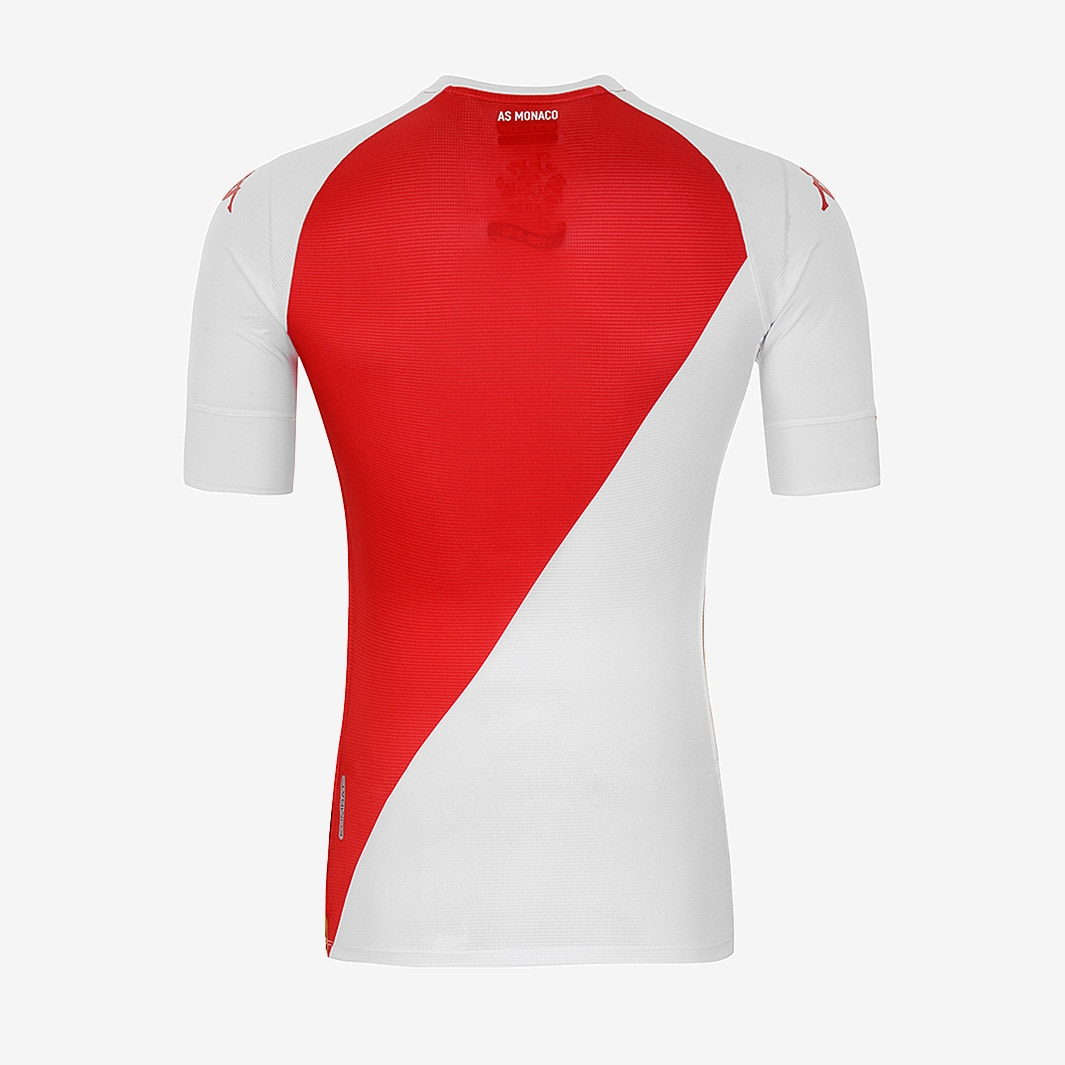 AS Monaco 2020-21 Kappa Home Kit | 20/21 Kits | Football shirt blog