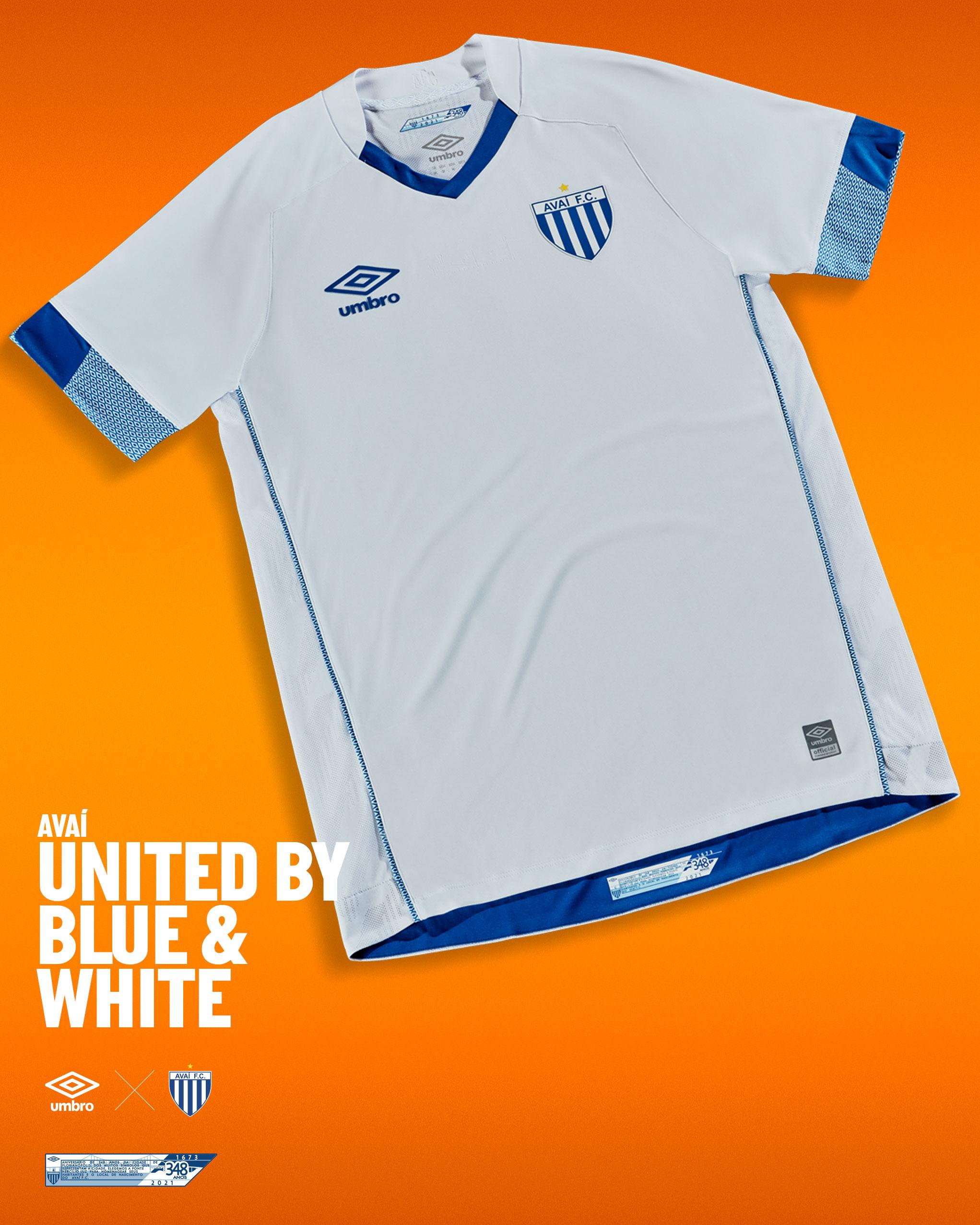 Avaí 2021 Umbro Home and Away Shirts | 20/21 Kits | Football shirt ...