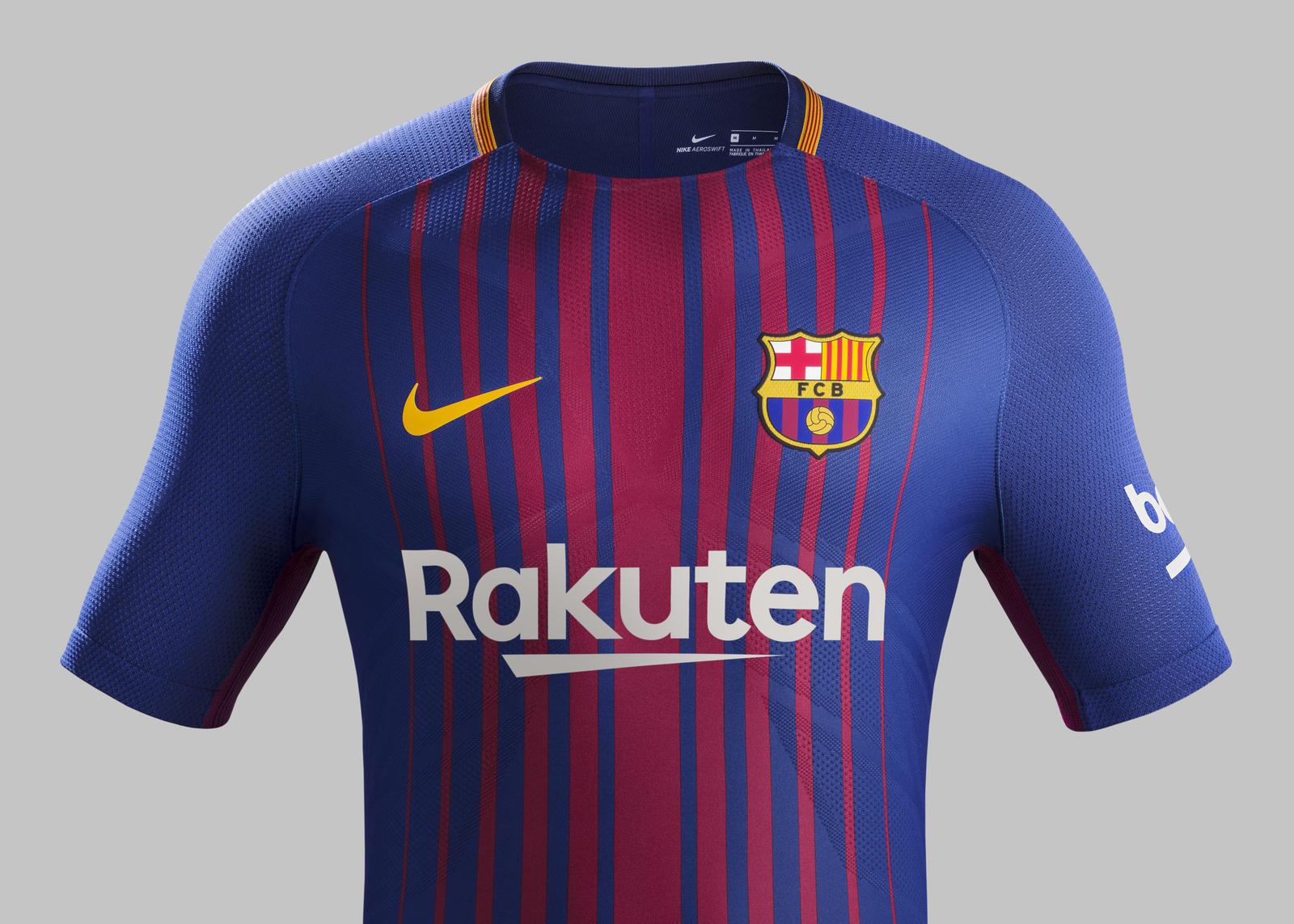 sale retailer 6541e 32896 Barcelona 17/18 Nike Home Kit   17/18 Kits   Football shirt blog