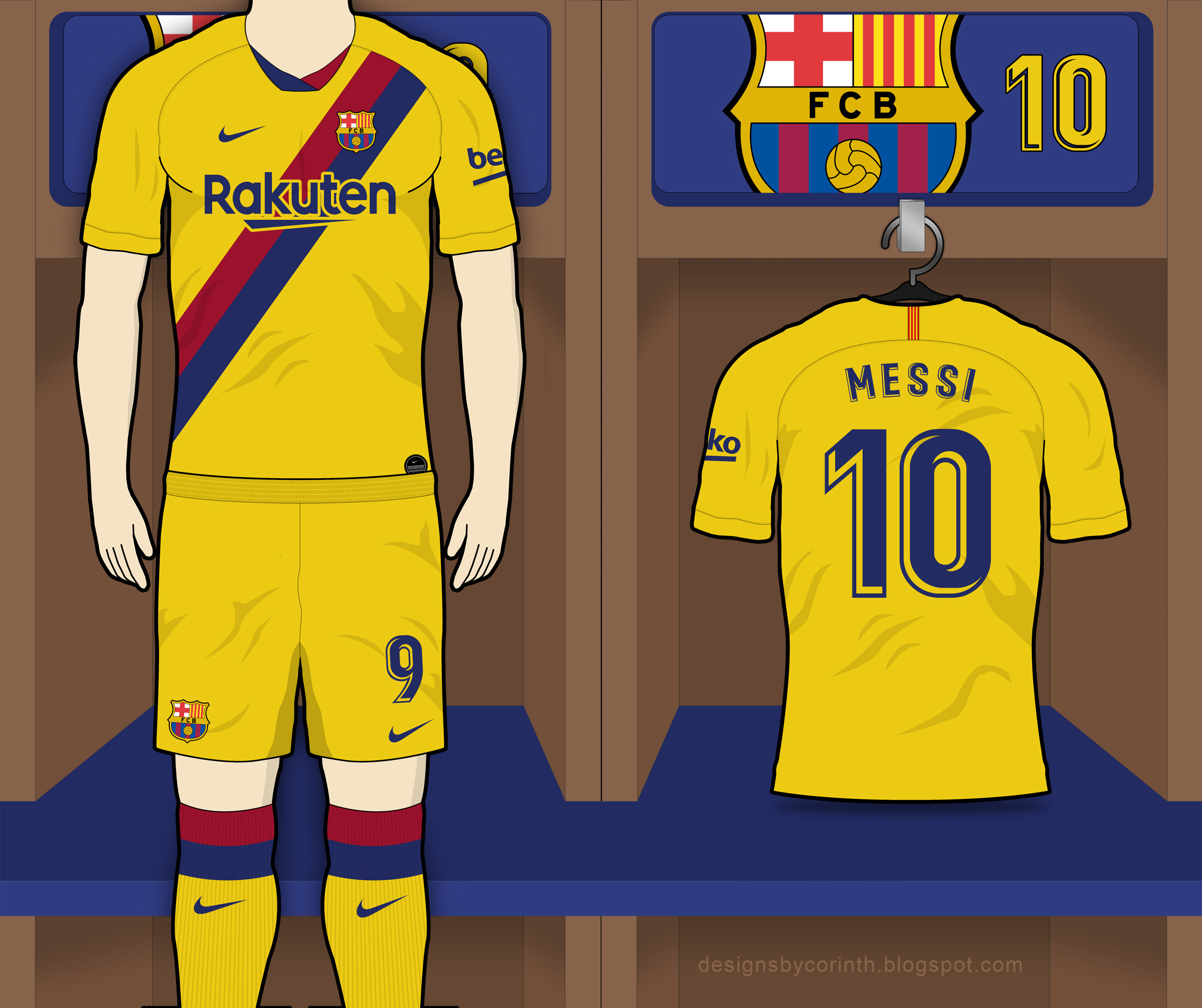 9595ea18770 Click to enlarge image barcelona 19 20 away kit prediction a.jpg ...