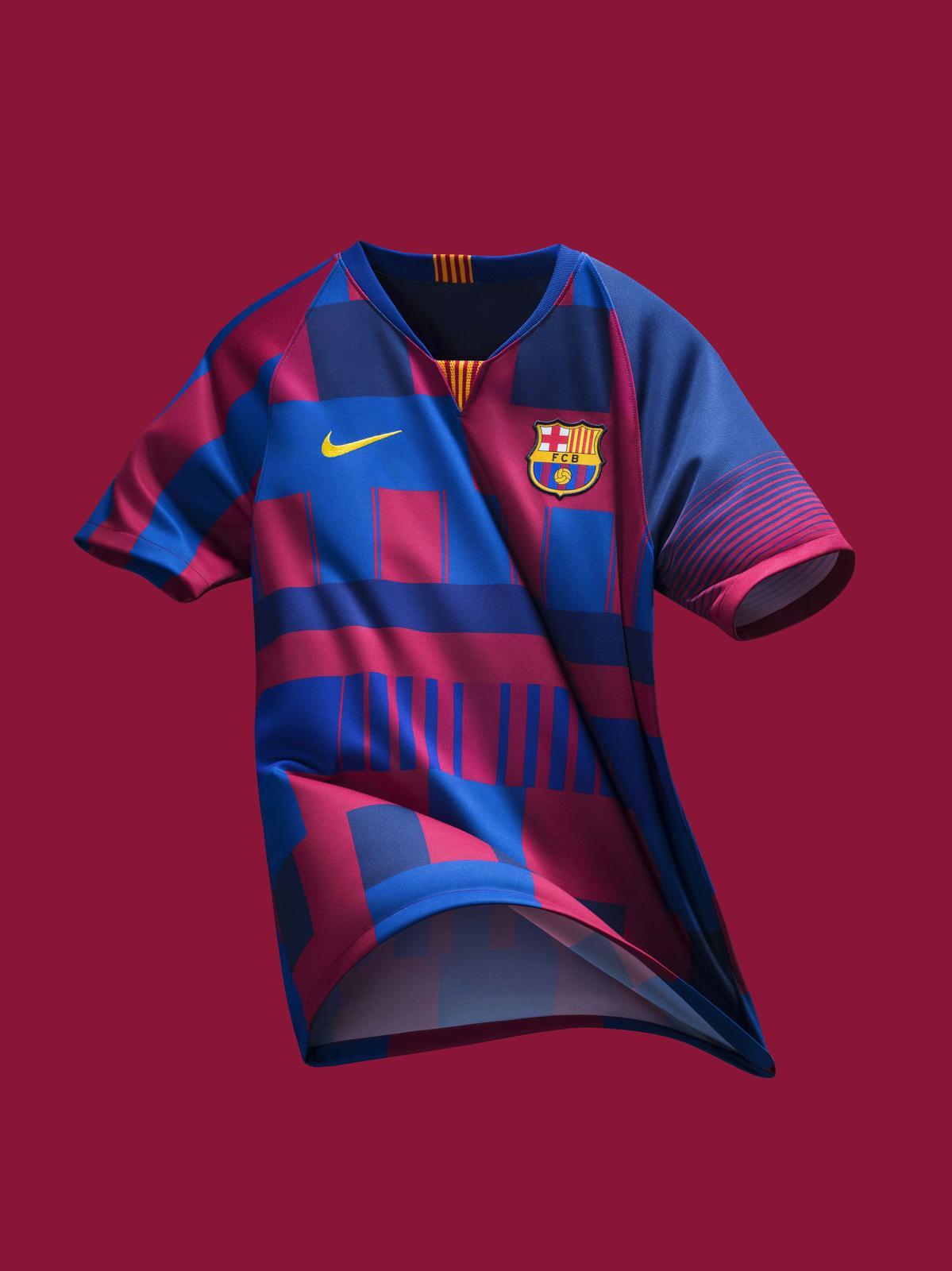 X 20th 1819 Barcelona Mash Kits Anniversary Up Nike Jersey d7xx0wz