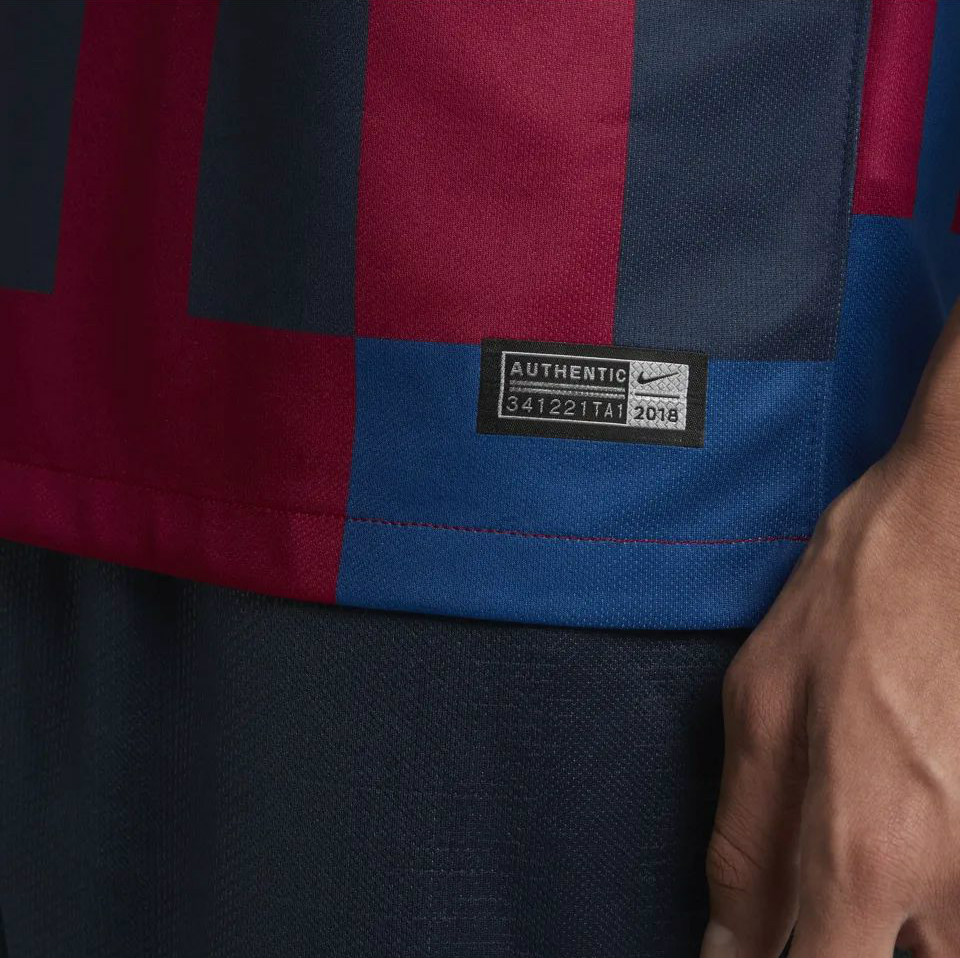 promo code 6b2d8 1cb61 Barcelona x Nike 20th Anniversary Mash-Up Jersey | 18/19 ...