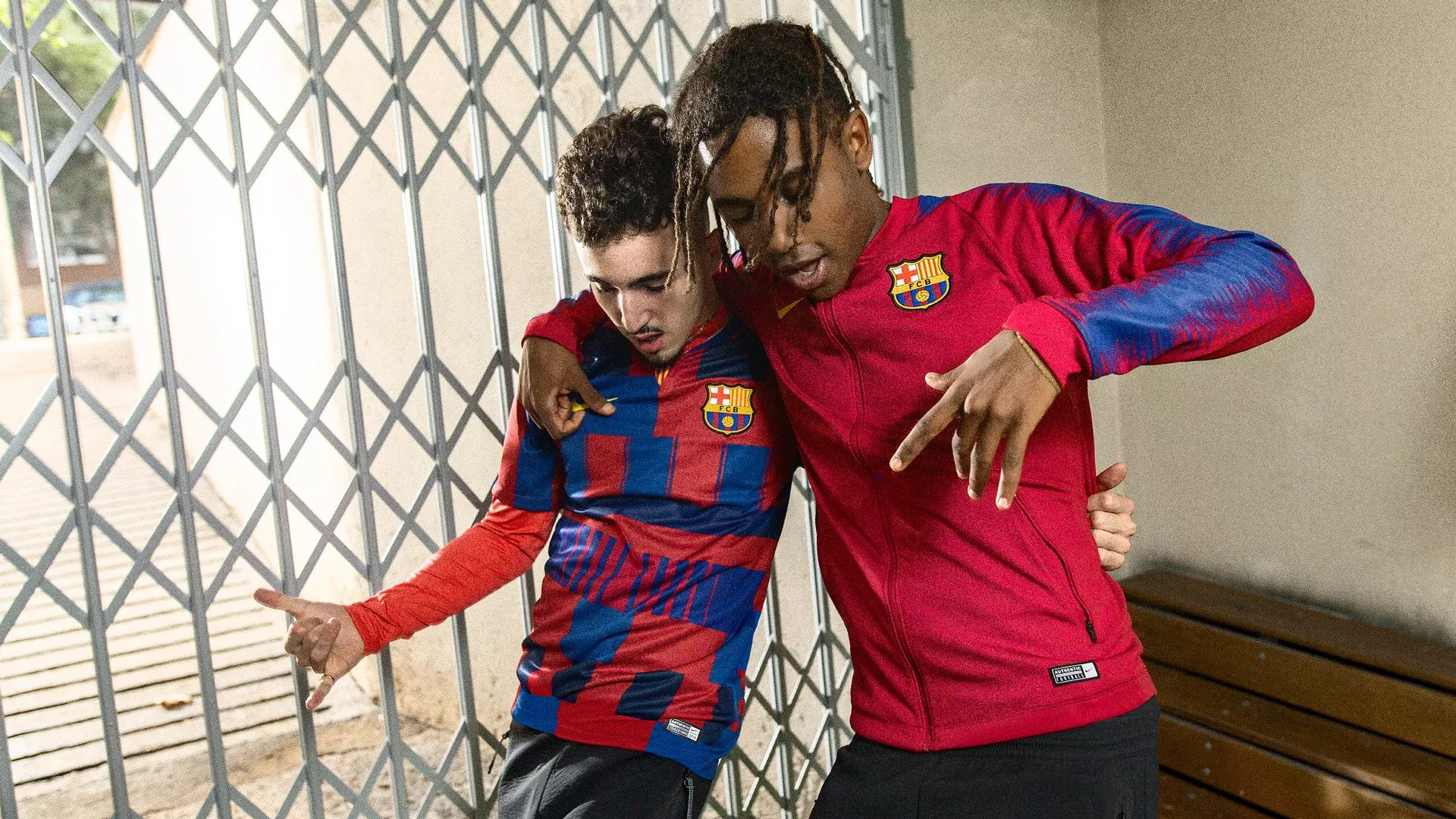 promo code 39d2d 22d5a Barcelona x Nike 20th Anniversary Mash-Up Jersey | 18/19 ...