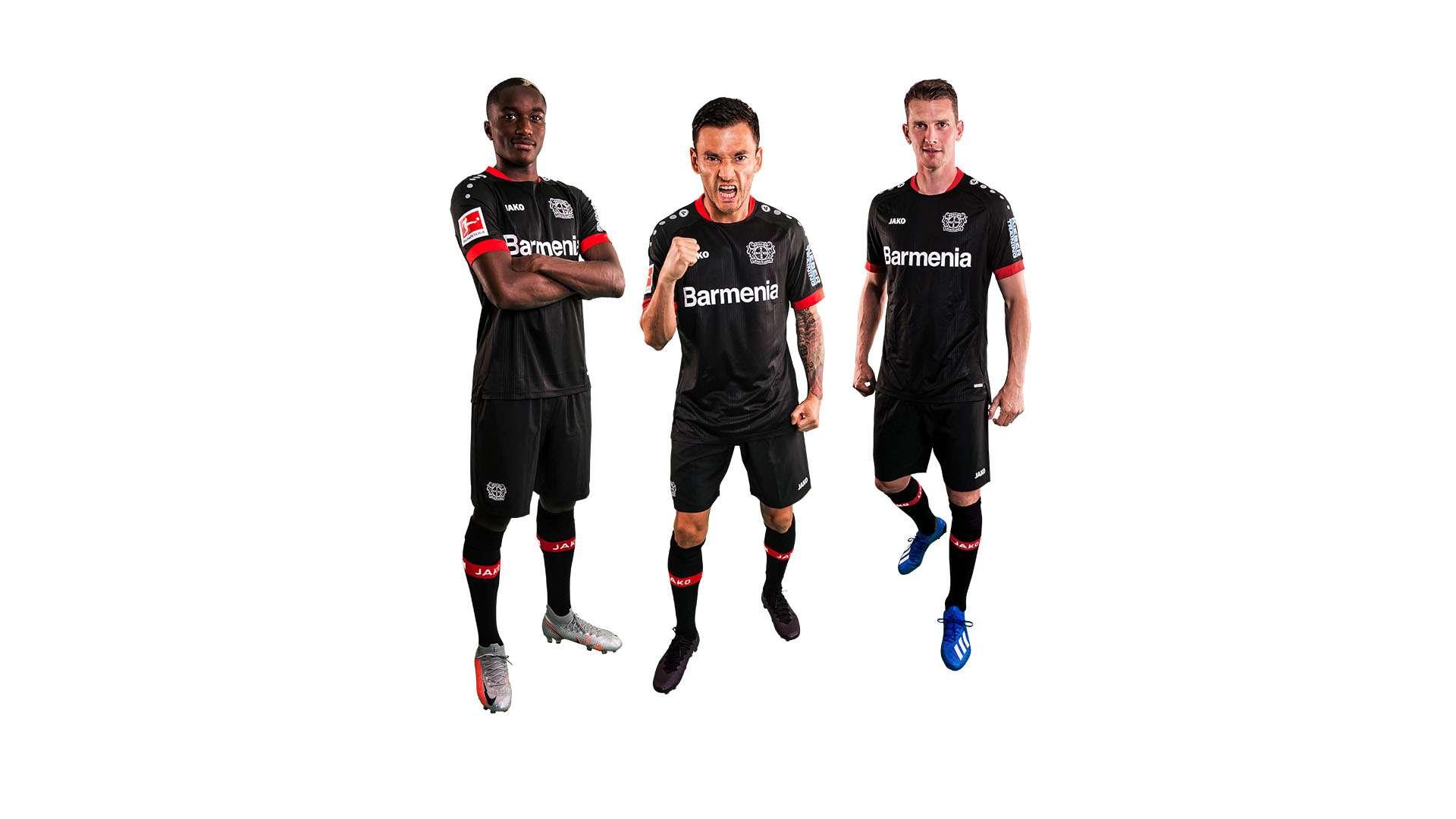 Bayer 04 Leverkusen 2020-21 Jako Home Kit | 20/21 Kits | Football ...