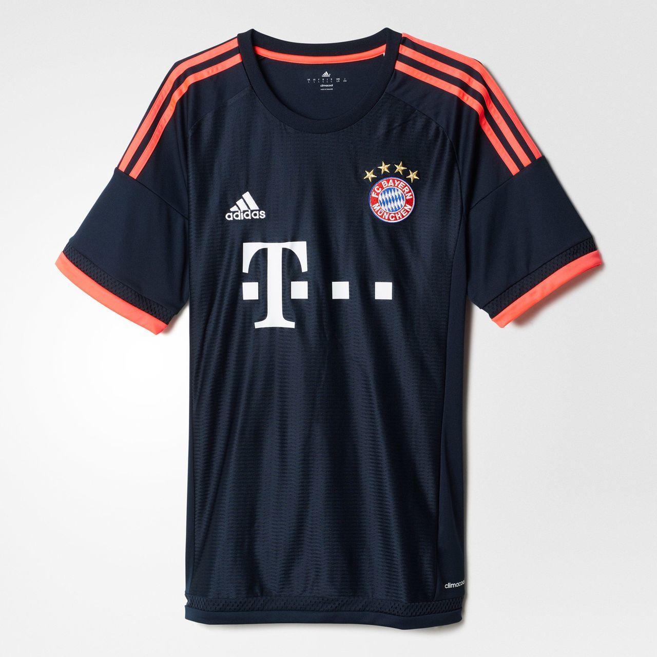 pretty nice 076e3 d94b3 Bayern Munich 15/16 Adidas Third Kit | 15/16 Kits | Football ...