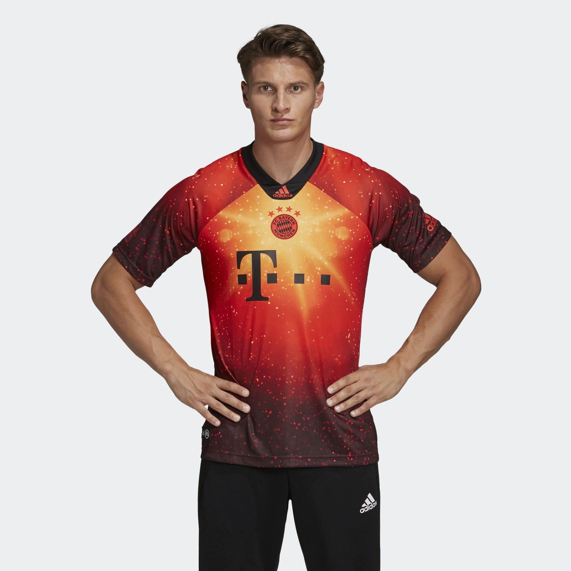 Bayern Munich X Adidas X Fifa 19 Digital Fourth Kit   18/19