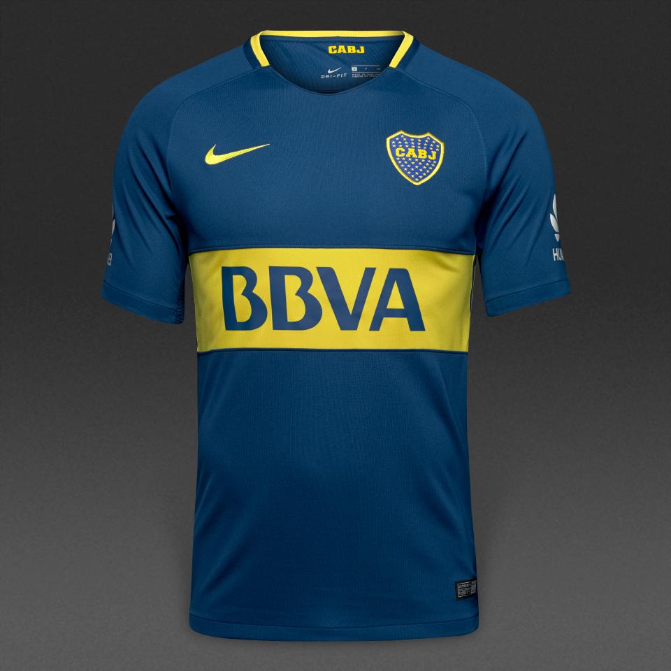 new style 4106b 8ce81 Boca Juniors 17/18 Nike Home Kit | 17/18 Kits | Football ...
