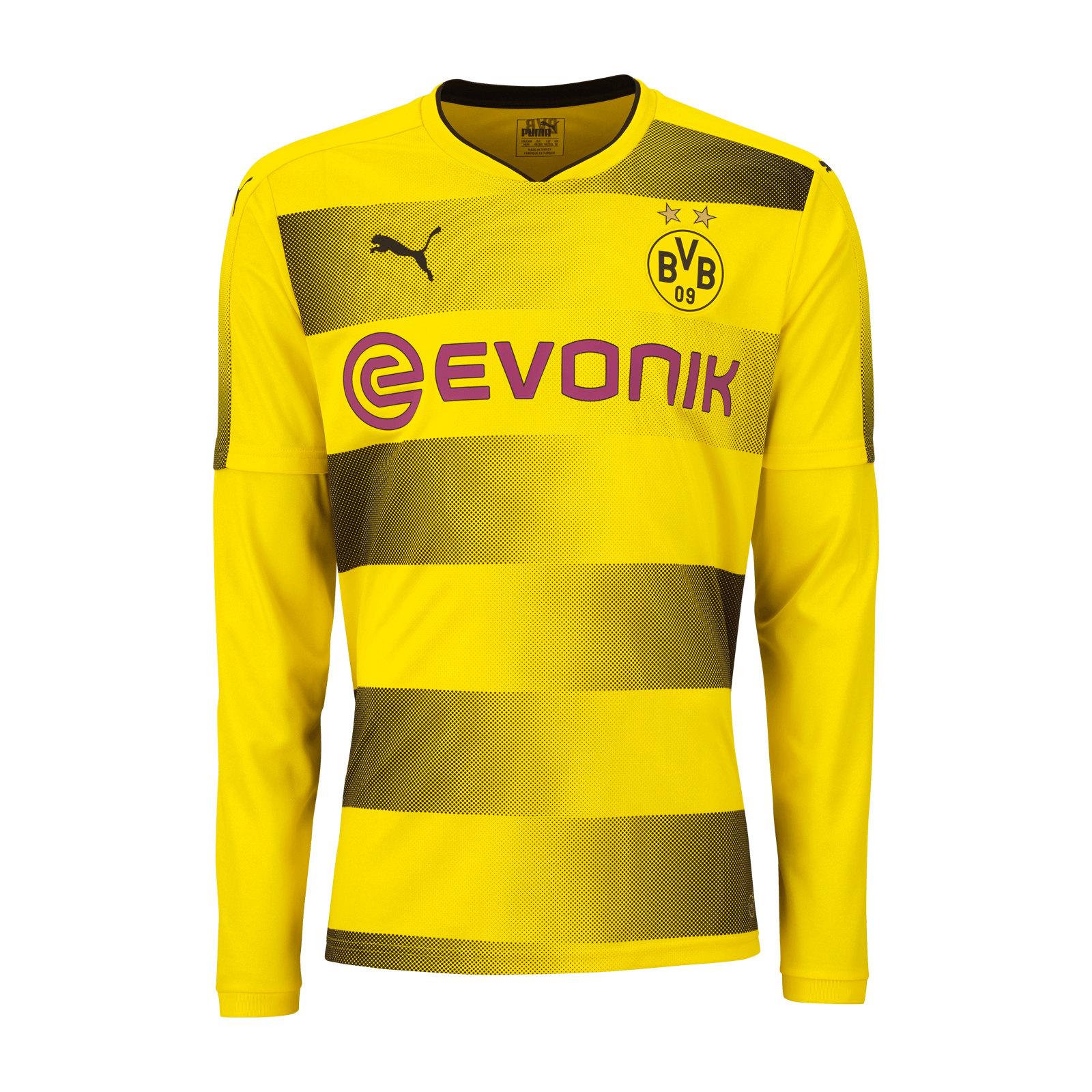 b11a8f847 Borussia Dortmund 2017-18 Puma Home Kit | 17/18 Kits | Football ...