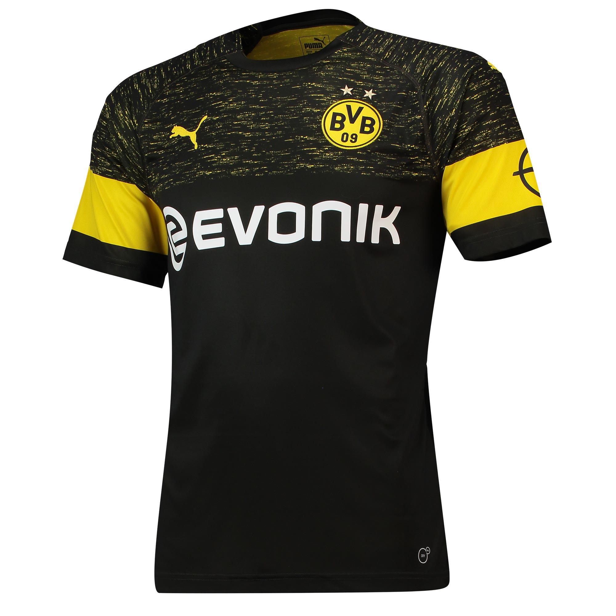 Borussia Dortmund 2018-19 Puma Away Kit | 18/19 Kits ...