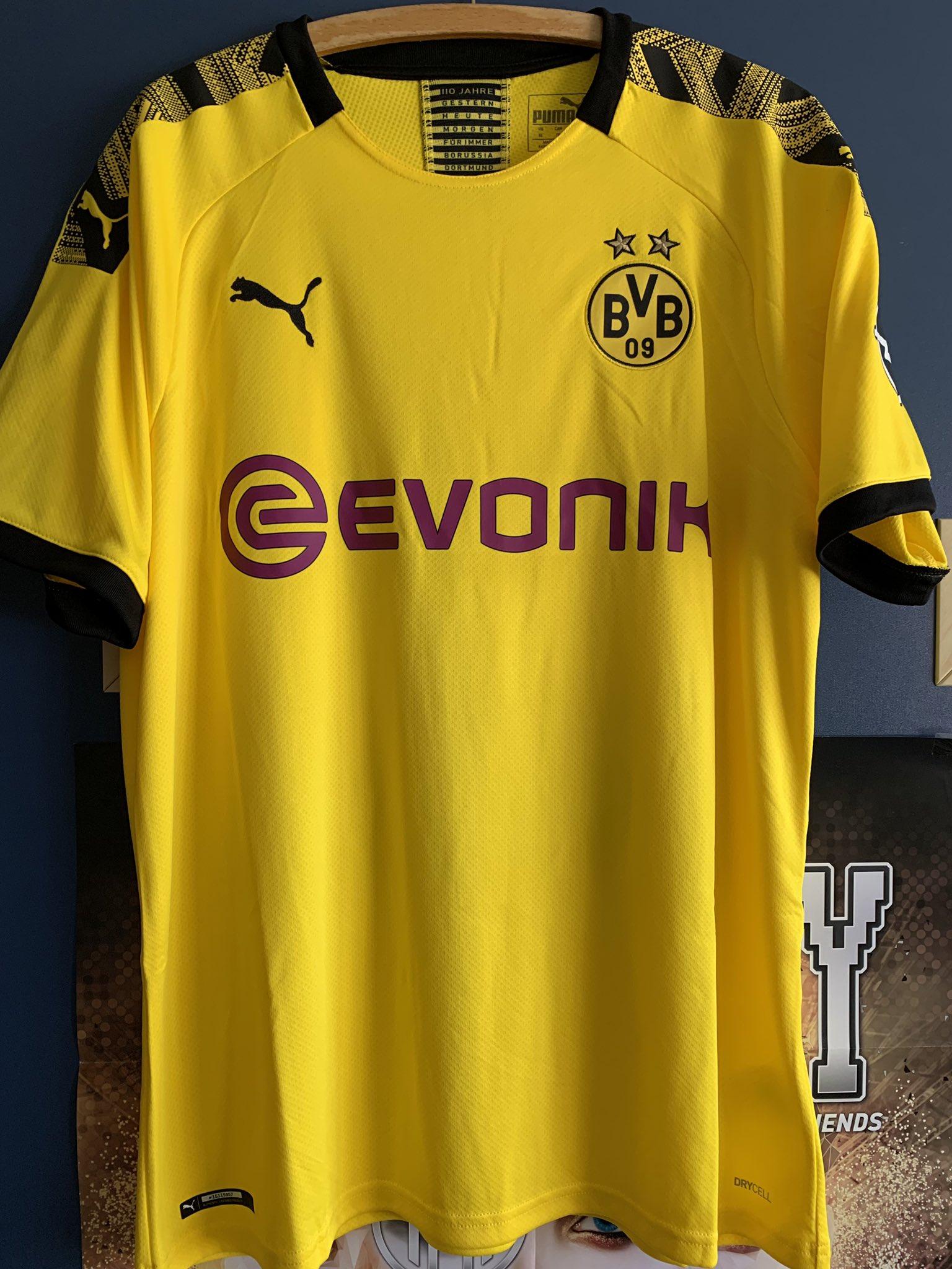 online store 80355 8ce3e Borussia Dortmund 2019-20 Puma Home Kit | 19/20 Kits ...