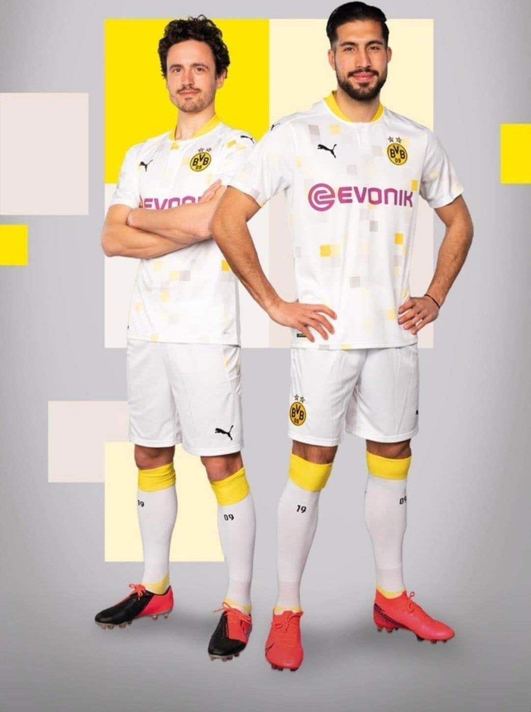 Borussia Dortmund 2020 21 Puma Third Cup Kit 20 21 Kits Football Shirt Blog