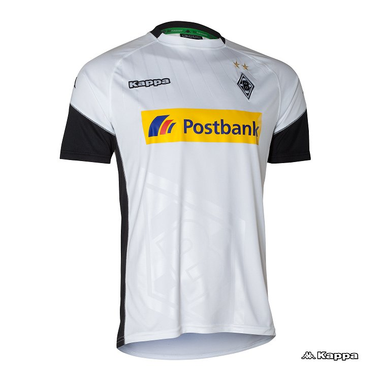 Borussia Mönchengladbach 2017-18 Kappa Home Kit   17/18 ...