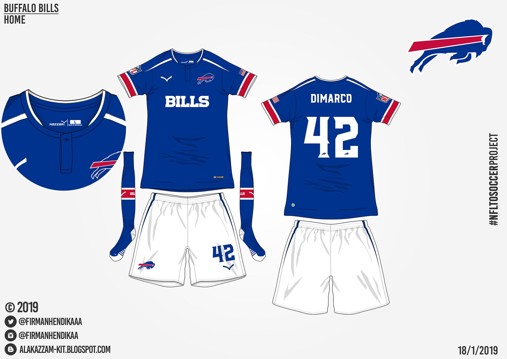buffalo bills home and away jerseys
