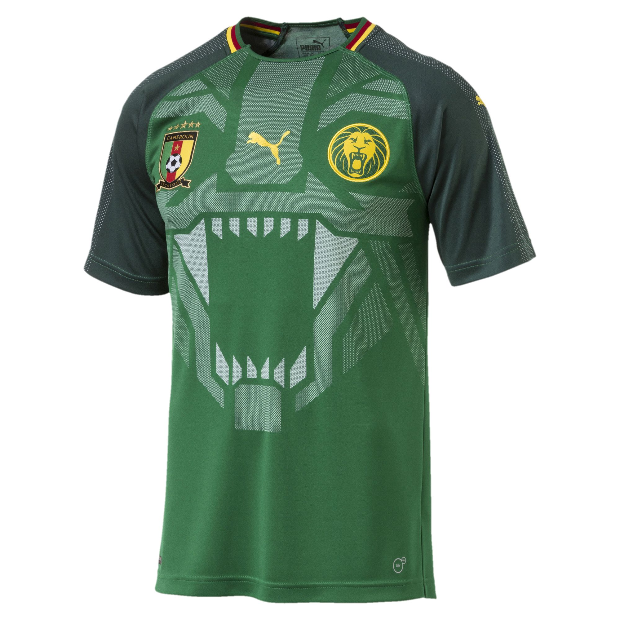Click to enlarge image cameroon 2018 puma home kit 1 jpg