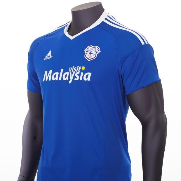 Cardiff City 16 17 Adidas Home Kit 16 17 Kits Football Shirt Blog
