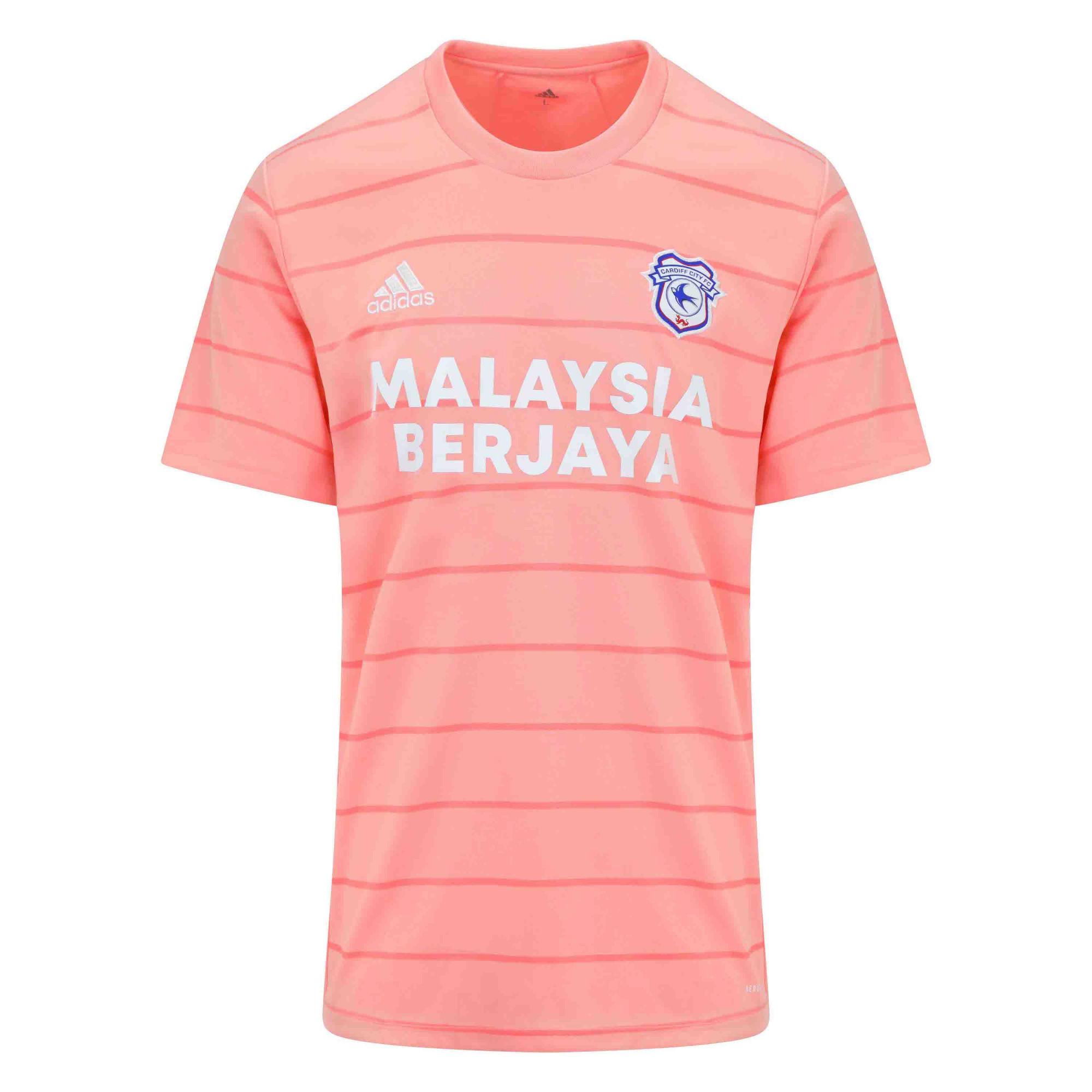 Cardiff City 2021-22 Adidas Away Shirt   21/22 Kits   Football ...