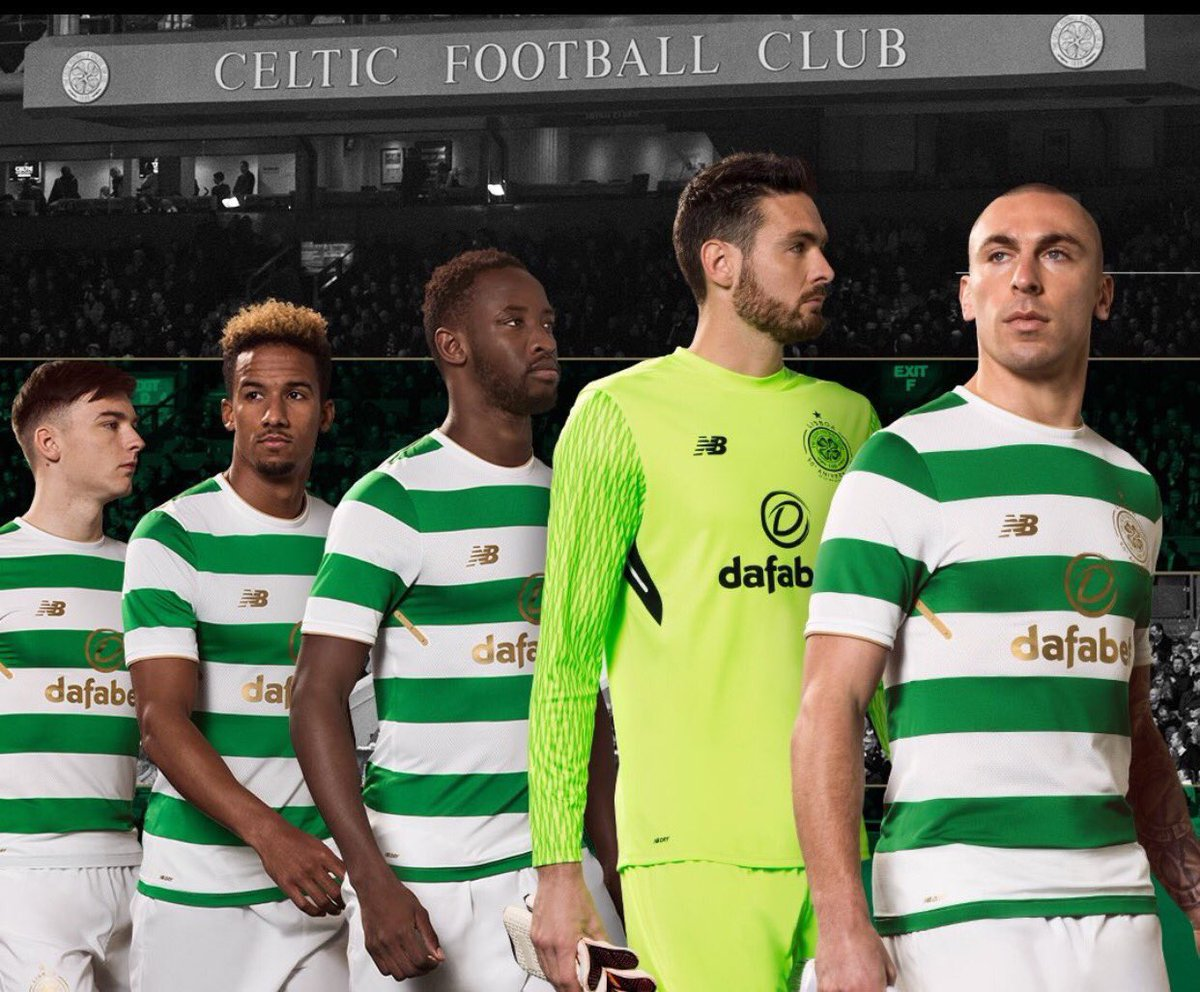 New form of Celtic 2017-2018 year 1