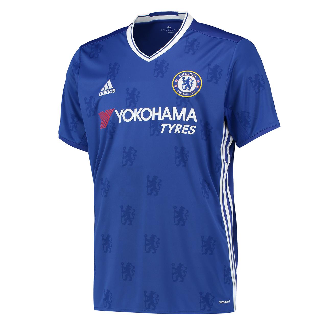 Chelsea 16/17 Adidas Home Kit   16/17 Kits   Football ...