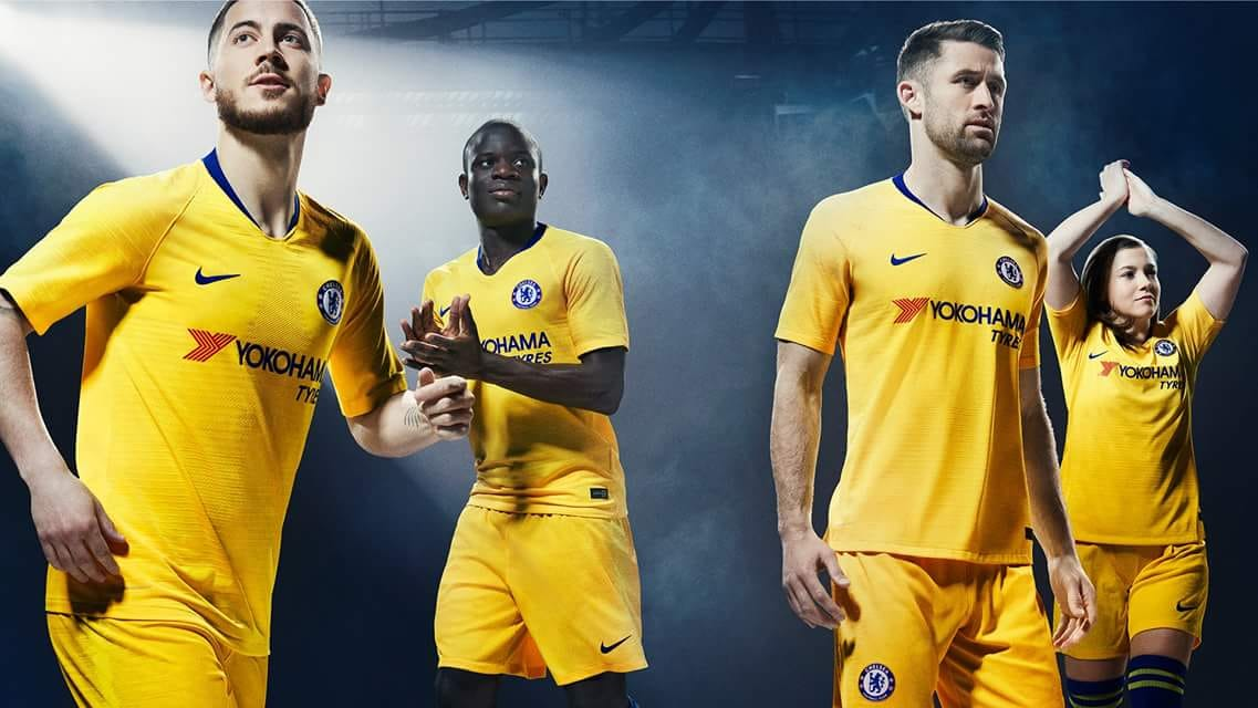 Chelsea 2018-19 Nike Away Kit  d06afea6a