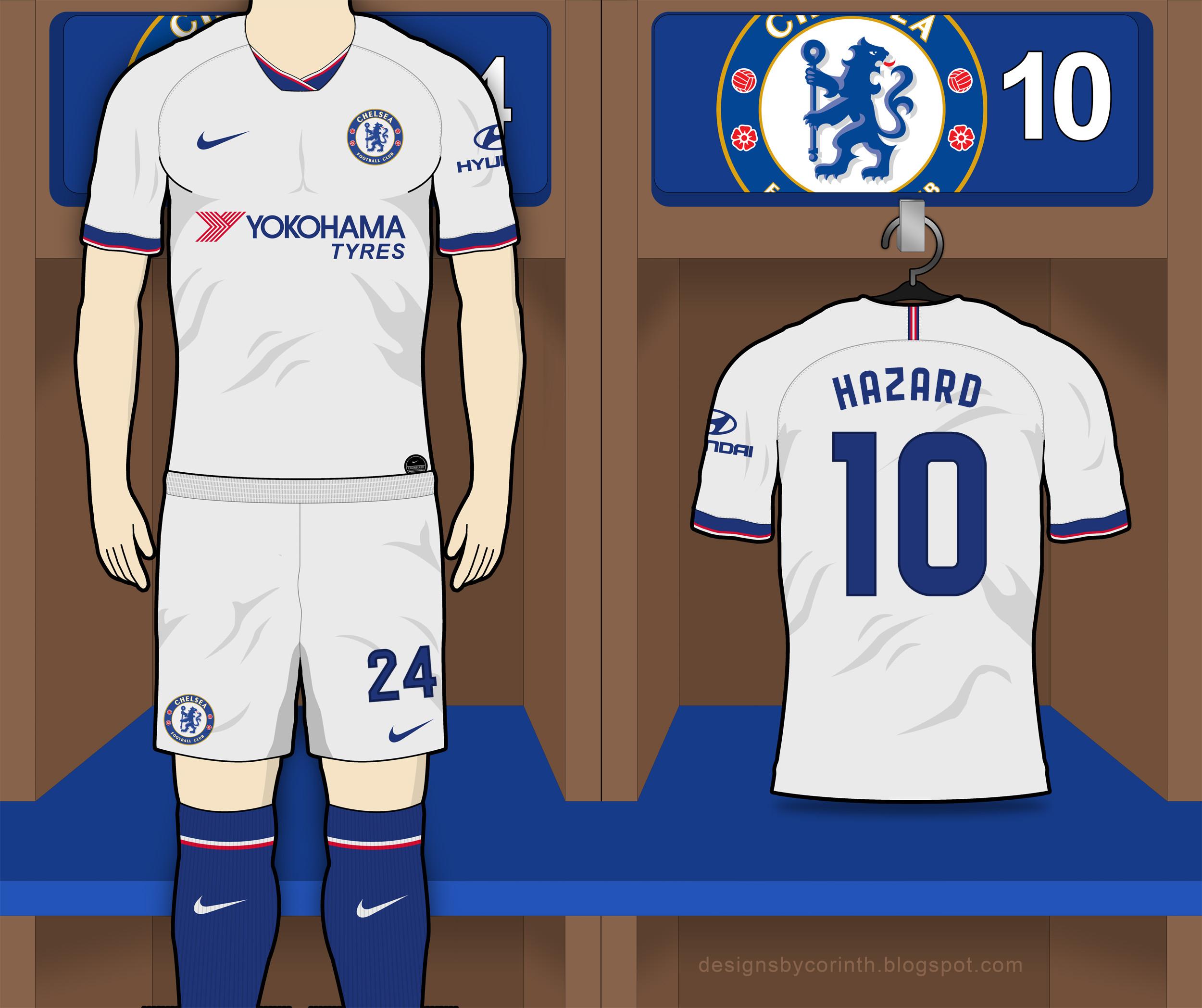 Chelsea 2019 20 Away Kit Prediction Kit Design Football
