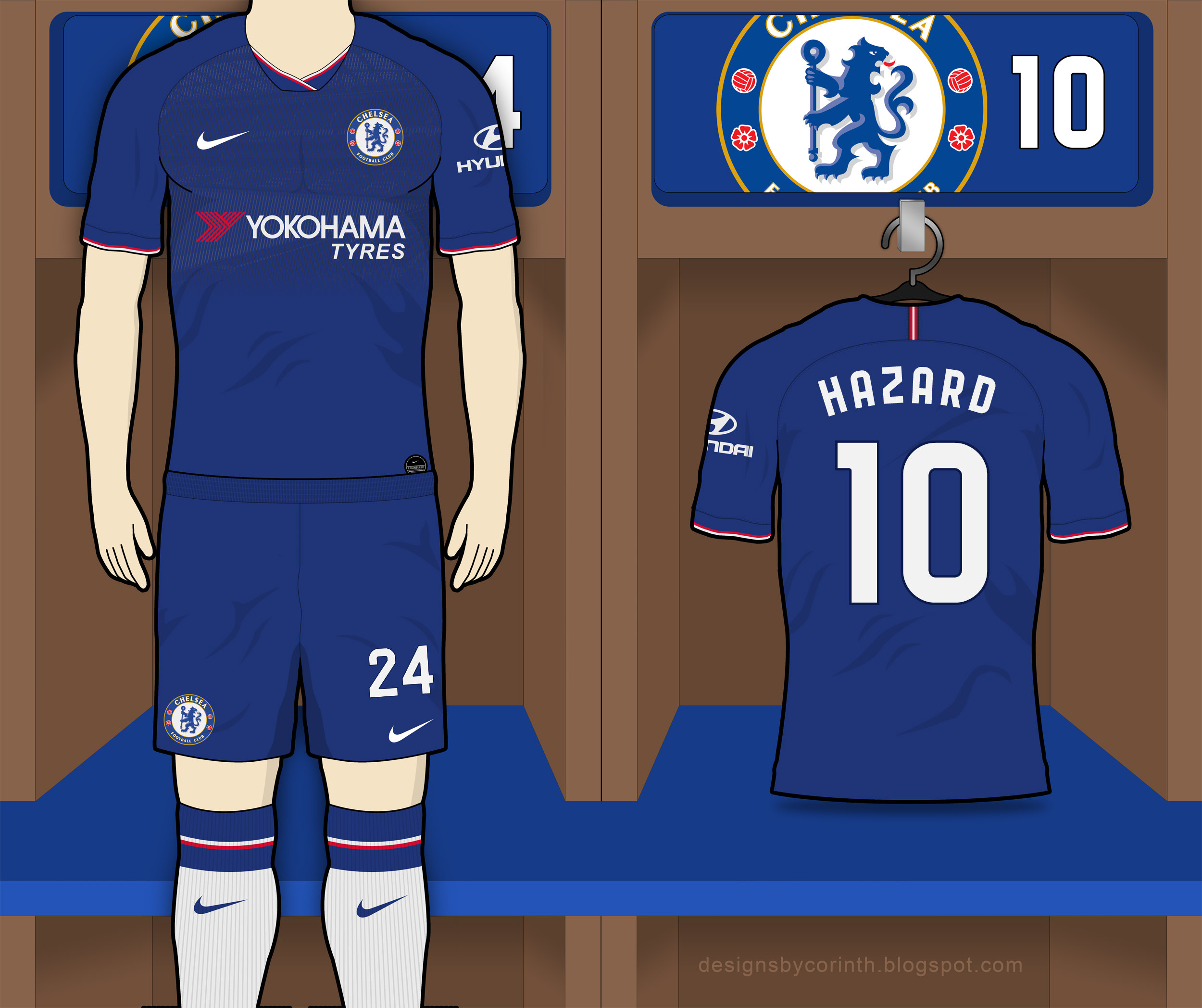watch a517f 22687 Chelsea 2019-20 Home Kit Prediction | Kit design | Football ...