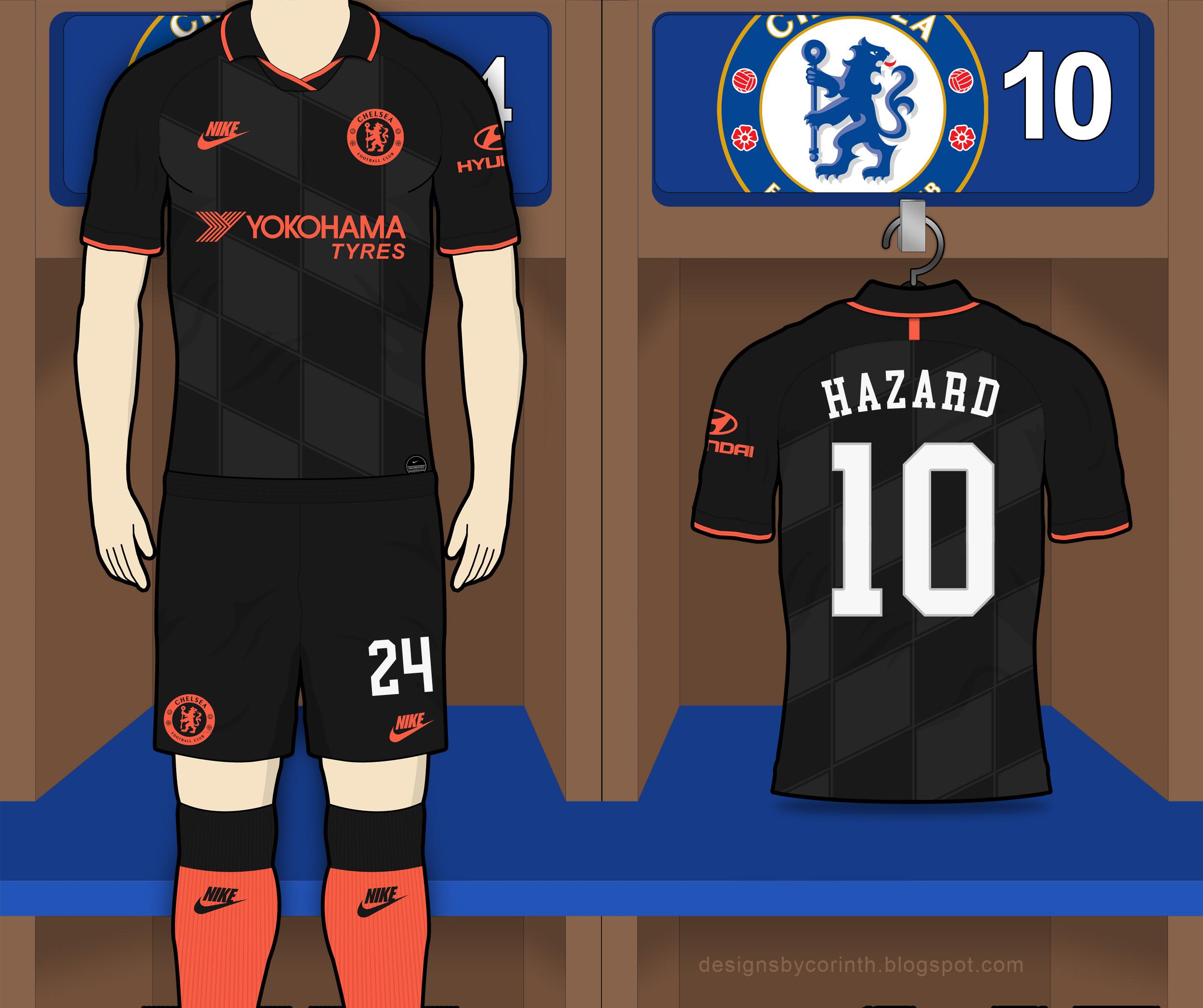 Chelsea 2019 20 Third Kit Prediction Kit Design Football
