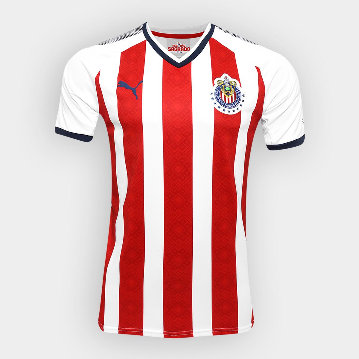 differently abffc 11b6a Chivas 17/18 Puma Home Kit   17/18 Kits   Football shirt blog