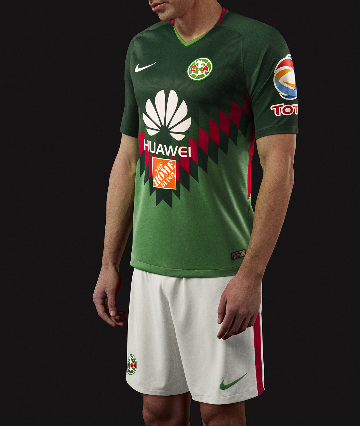 aa8432474b2 ... Click to enlarge image club america 2018 nike tricolor kit e.jpg ...