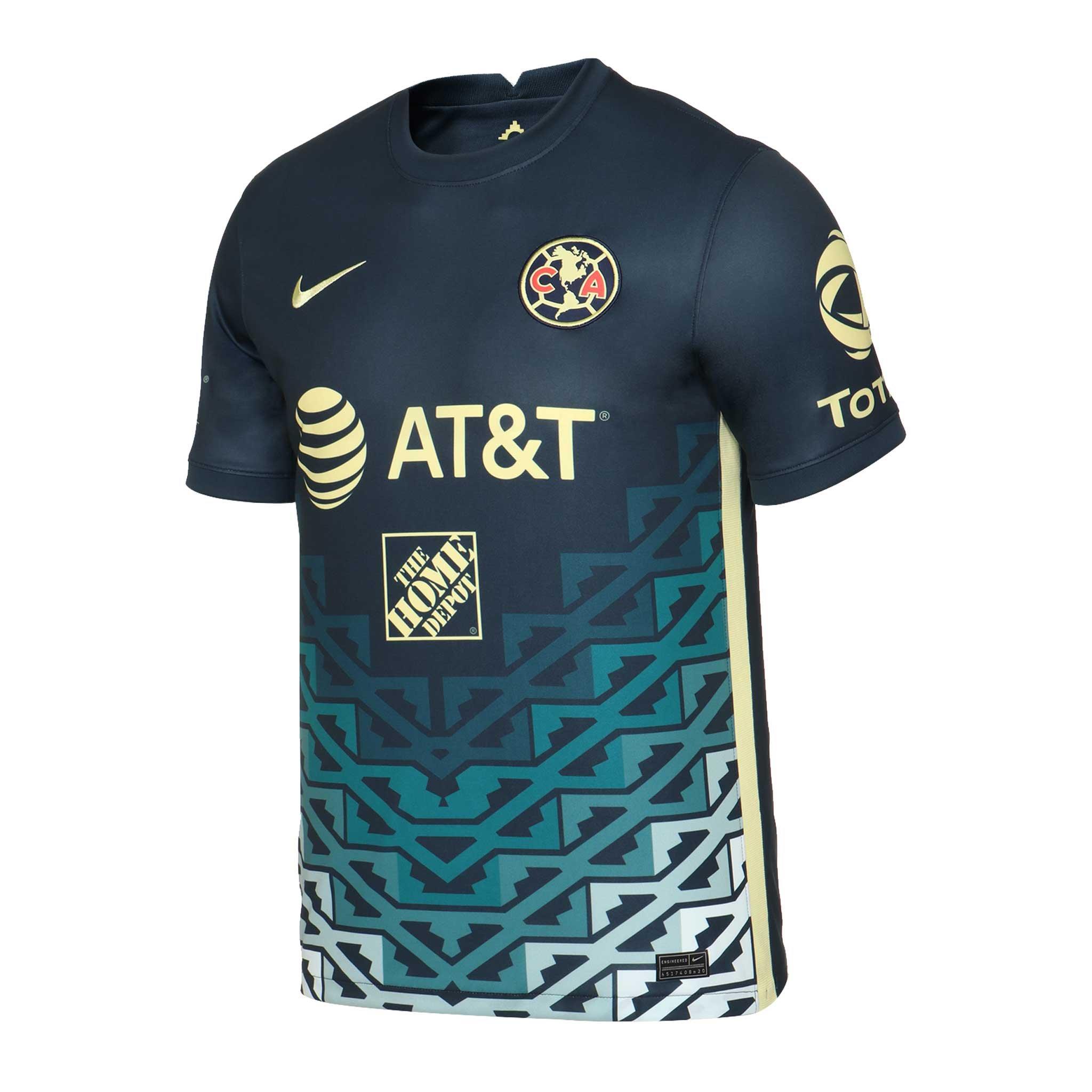 Club America 2021-22 Nike Away Shirt | 21/22 Kits | Football shirt ...