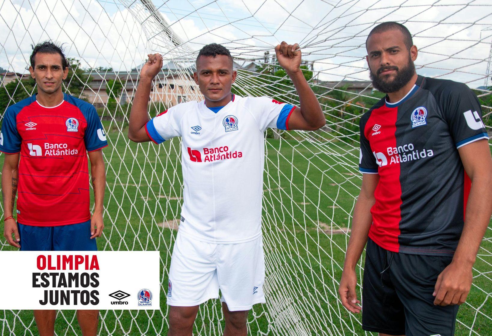 Club Olimpia 2020-21 Umbro Home, Away and Third Kits | 20/21 Kits ...