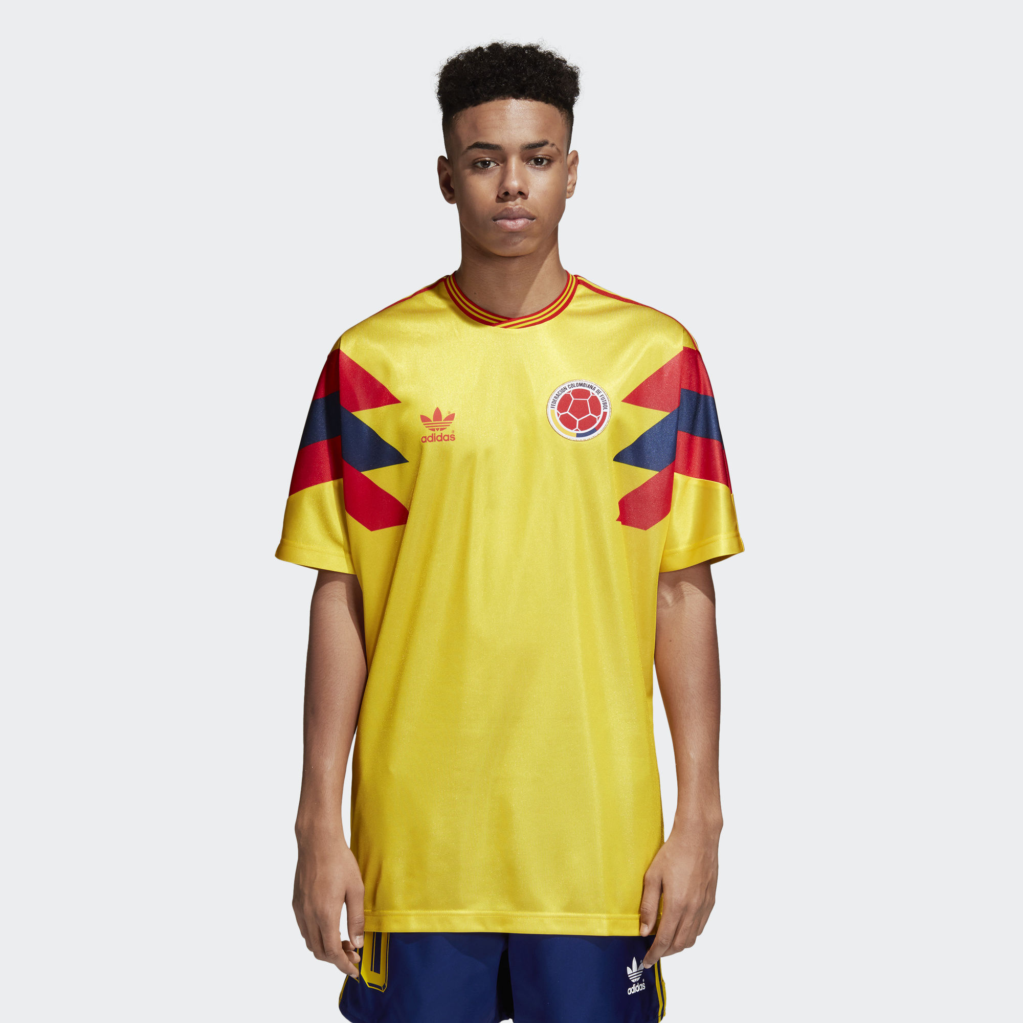 Click to enlarge image  colombia 1990 adidas originals home replica jersey a.jpg ... 01037d2d3