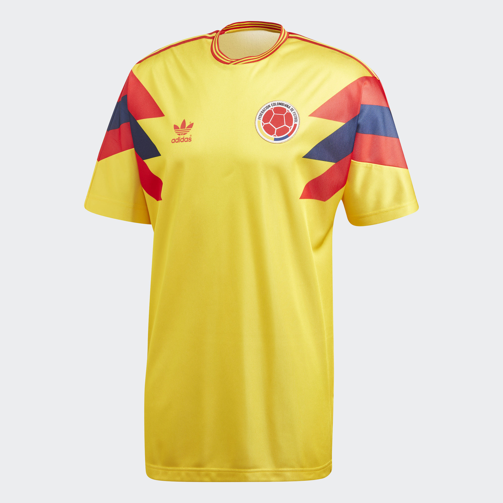 1169943369 ... Click to enlarge image  colombia 1990 adidas originals home replica jersey e.jpg ...