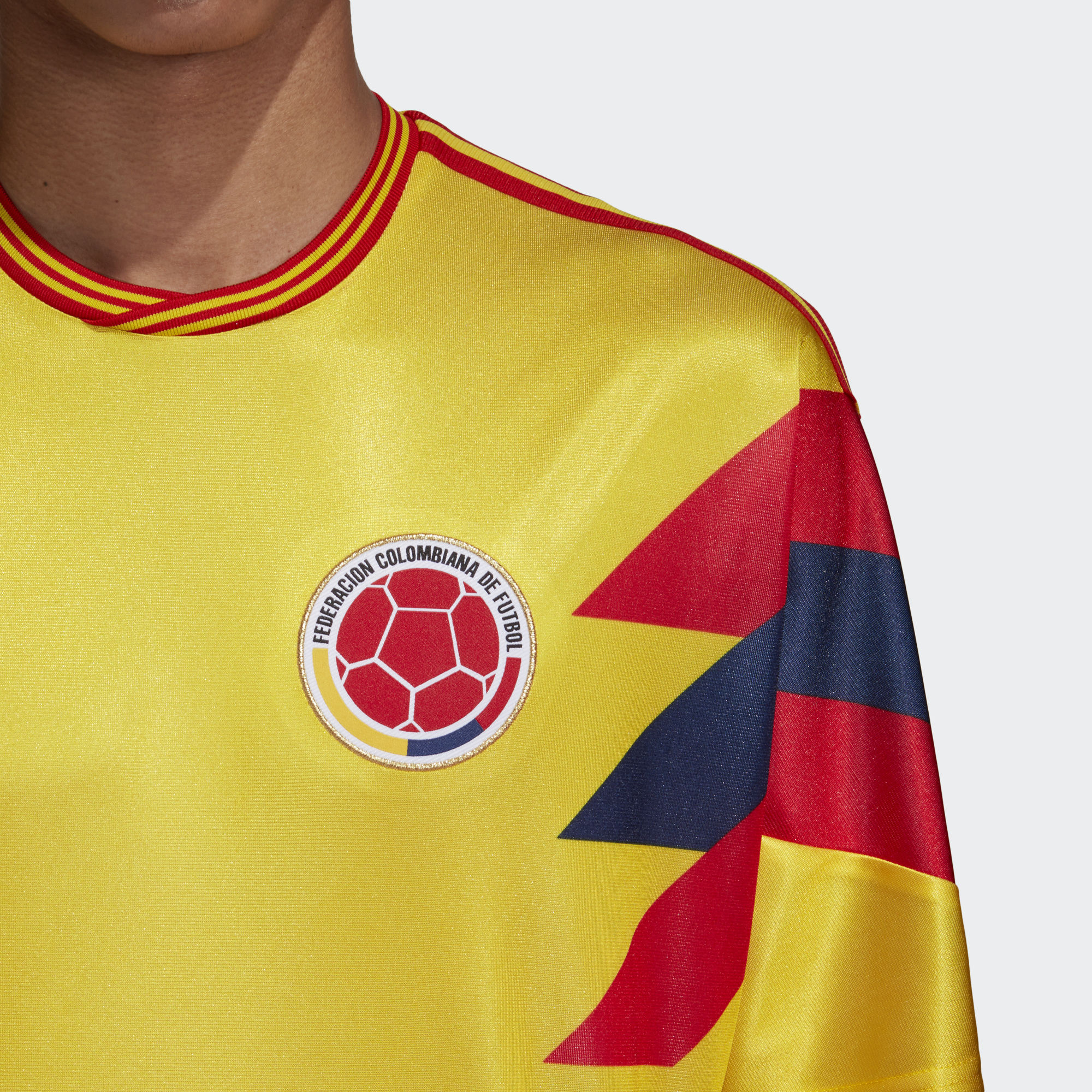 ... Click to enlarge image  colombia 1990 adidas originals home replica jersey g.jpg ... 556f718e8