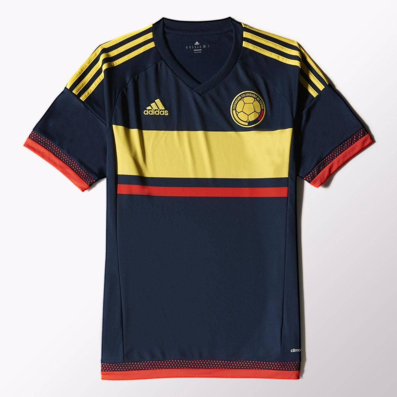50c0865aa Colombia 2015 Adidas Away Football Shirt