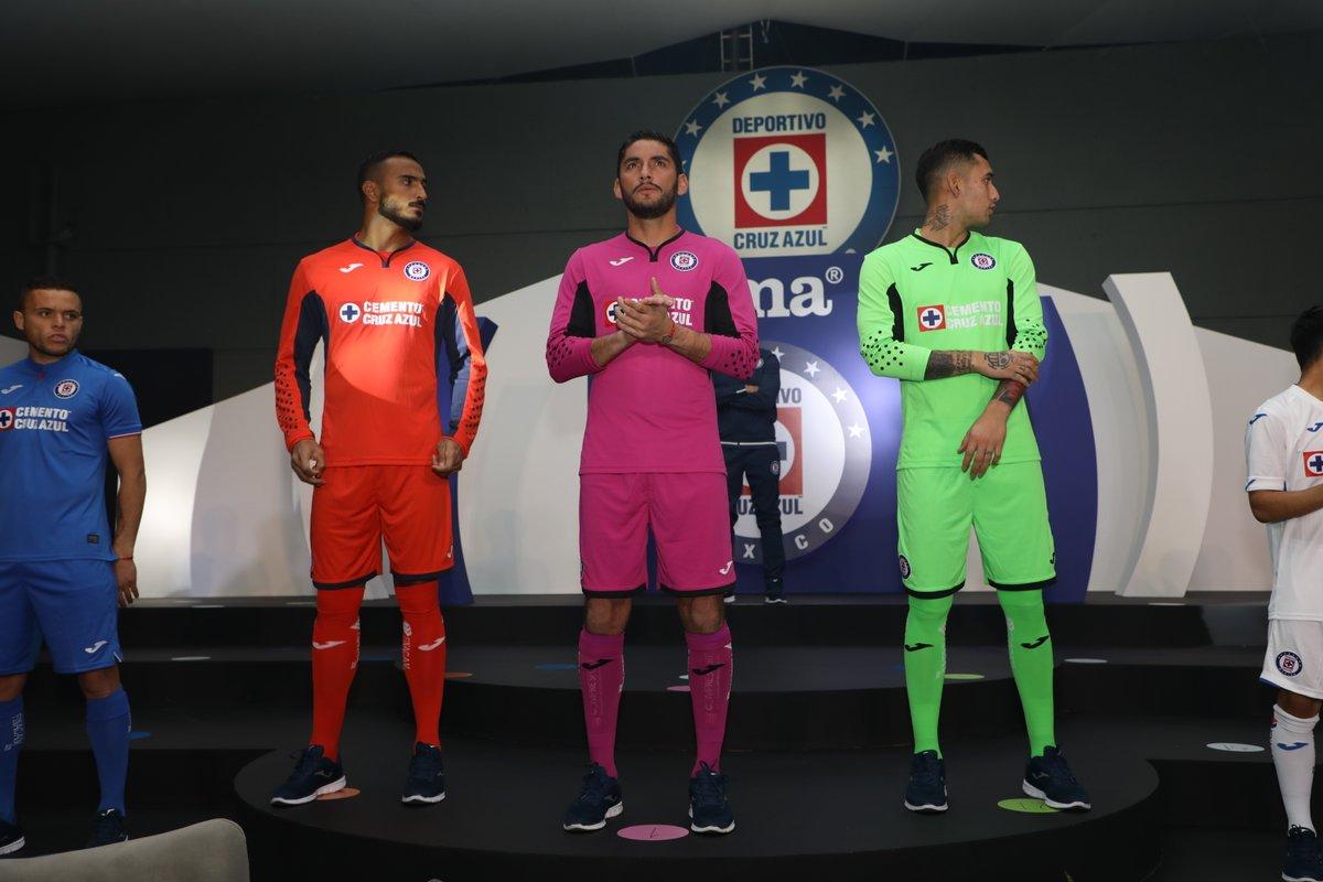 600bbab43 Cruz Azul 2019 Joma Home   Away Kits