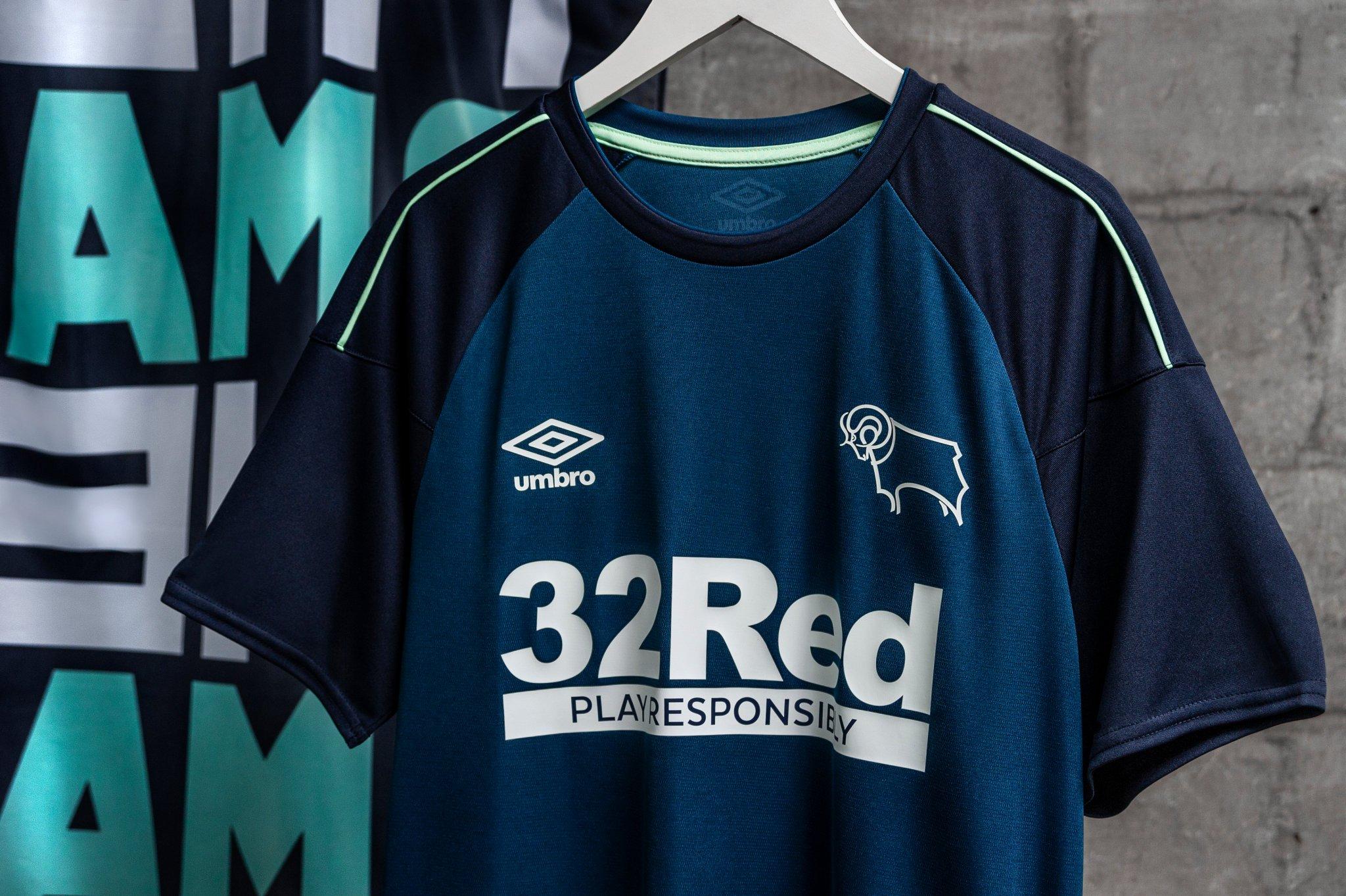 Derby County 2020-21 Umbro Away Kit   20/21 Kits   Football shirt blog
