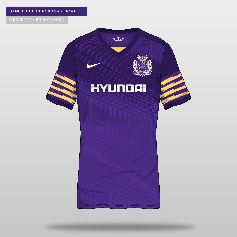 DF Concept - Sanfrecce Hiroshima Shirt by Franco C | Kit design ...