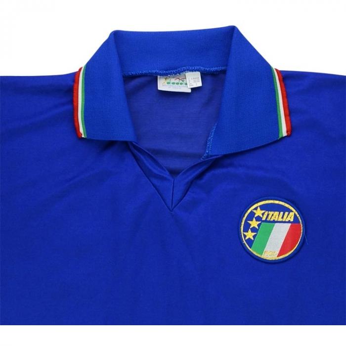 Diadora 1990 Italy Match Worn World Cup Home Shirt | Vintage ...
