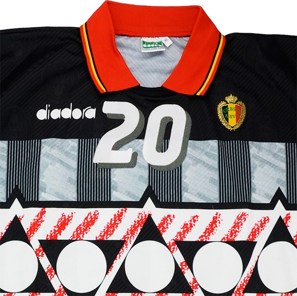 c209b5508 ... Click to enlarge image  diadora 1994 belgium match issue world cup gk shirt verlinden c.jpg
