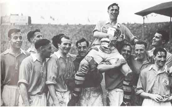 The Liverpool v Arsenal FA Cup Final of 1950 was significant in being the first post war match at