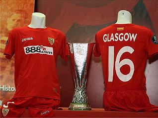 sevilla uefa cup final 2007 winners shirt