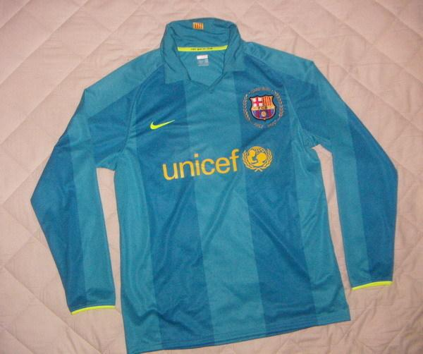 san francisco dd620 0e588 Nike barcelona 'Camp Nou 50th anniversary ' shirts 07/08 ...