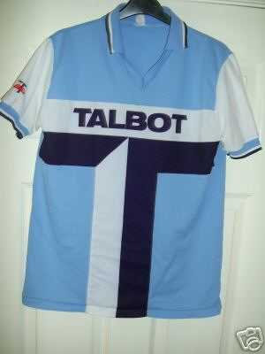 Coventry City thought they were on a winner when they introduced a kit that incorporated the logo of the Talbot car manufacturing company into the design but the TV companies boycotted them until they introduced an alternate strip for televised games.