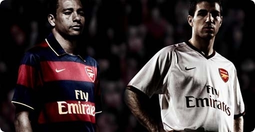 After leaking their white away kit, Arsenal now have pictures of their new 07/08 3rd kit circulating on the web.