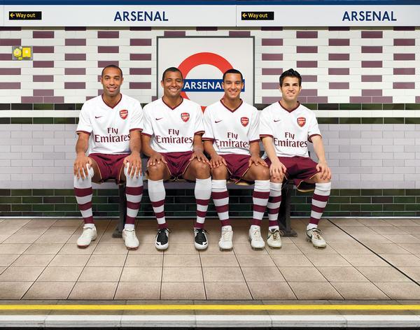 New Arsenal 07/08 'chapman' away nike kit confirmed | 07/08 Kits ...