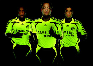 new Chelsea away adidas kit 0708