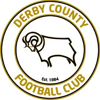A decade later, in 2007, the badge was modified again (to the one seen at top of this article), with the ram (still facing left) and the text 'Est. 1884' now in the middle of a circular frame featuring 'Derby County Football Club' in gold lettering.
